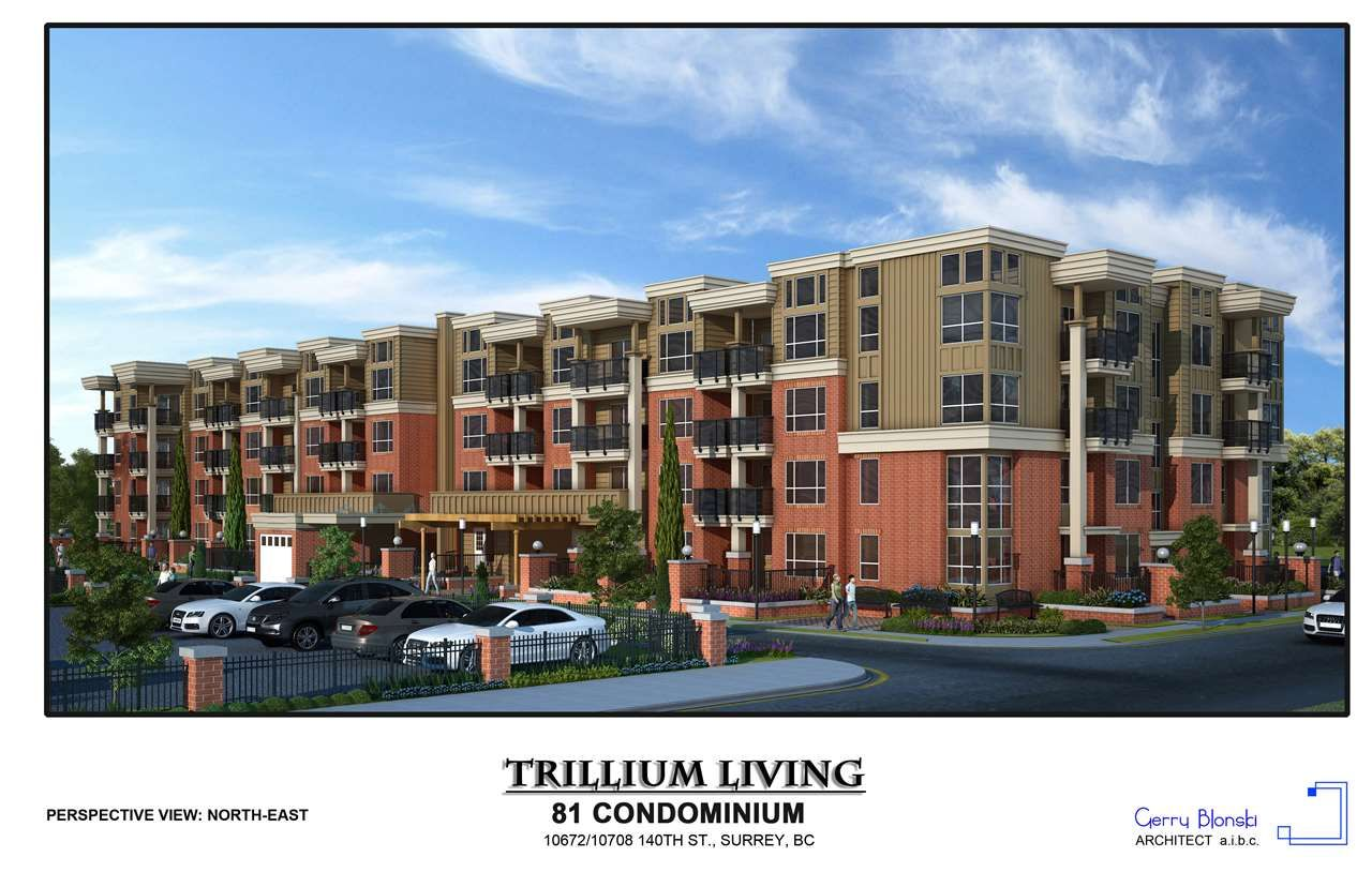 "Main Photo: 203 10688 140 Street in Surrey: Whalley Condo for sale in ""TRILLIUM LIVING"" (North Surrey)  : MLS®# R2346787"