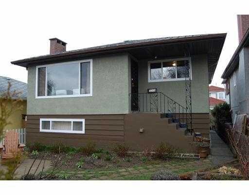 Main Photo: 3249 E 26TH AV in Vancouver: Renfrew Heights House for sale (Vancouver East)  : MLS®# V758751