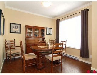 """Photo 5: 5 20460 66TH Avenue in Langley: Willoughby Heights Townhouse for sale in """"Willow Edge"""" : MLS®# F2809393"""