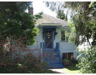 Photo 1: 3930 W 23RD Ave in Vancouver: Dunbar House for sale (Vancouver West)  : MLS®# V642147