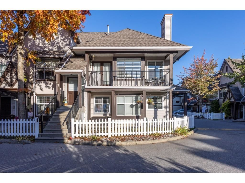 """Main Photo: 103 12099 237 Street in Maple Ridge: East Central Townhouse for sale in """"Gabriola"""" : MLS®# R2624710"""