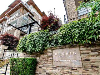 """Photo 1: 201 2465 WILSON Avenue in Port Coquitlam: Central Pt Coquitlam Condo for sale in """"ORCHID RIVERSIDE"""" : MLS®# R2469376"""