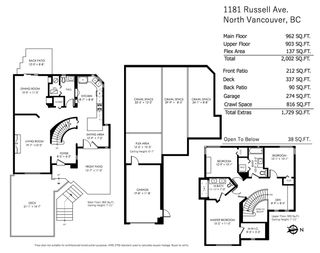 Photo 27: 1181 RUSSELL Avenue in North Vancouver: Indian River House for sale : MLS®# R2478577