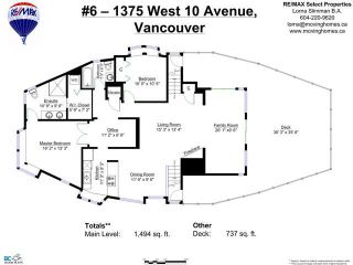 """Photo 31: 6 1375 W 10TH Avenue in Vancouver: Fairview VW Condo for sale in """"HEMLOCK HOUSE"""" (Vancouver West)  : MLS®# V1107342"""
