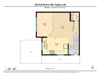 Photo 33: 126 3130 66 Avenue SW in Calgary: Lakeview Row/Townhouse for sale : MLS®# A1114845