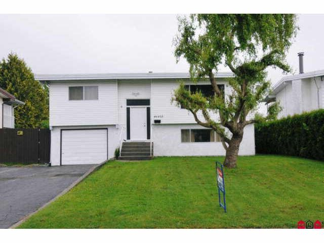 Main Photo: 46403 CORNWALL in Chilliwack: Chilliwack E Young-Yale House for sale : MLS®# H1003598