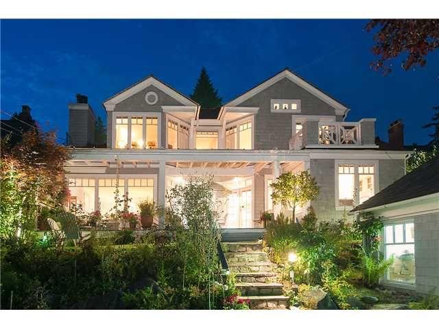 Main Photo: 2648 LAWSON AV in West Vancouver: Dundarave House for sale : MLS®# V1083166