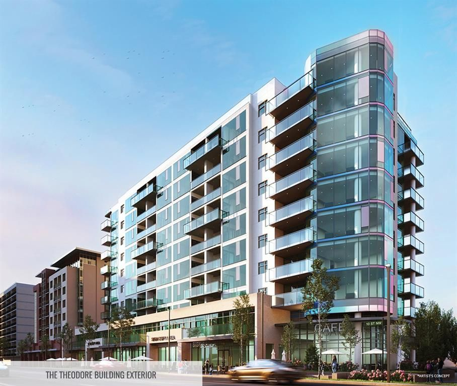 Main Photo: 704 1107 Gladstone Road NW in Calgary: Hillhurst Apartment for sale : MLS®# A1104558