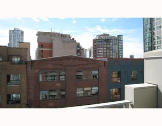 """Photo 10: 504 1228 HOMER Street in Vancouver: Downtown VW Condo for sale in """"THE ELLISON"""" (Vancouver West)  : MLS®# V712393"""