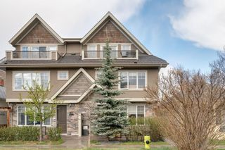 Main Photo: 1 922 3 Avenue NW in Calgary: Sunnyside Row/Townhouse for sale : MLS®# A1102564