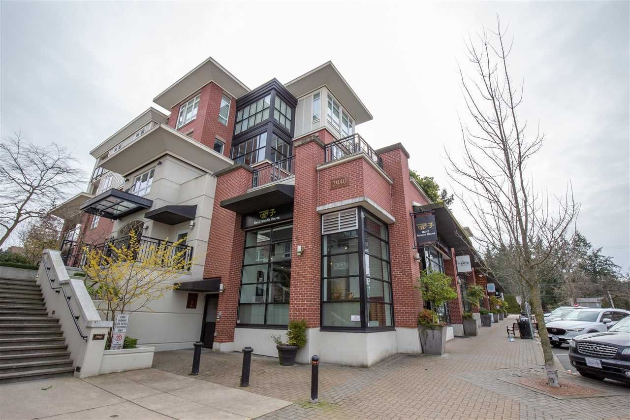 "Main Photo: 302 2940 KING GEORGE Boulevard in Surrey: King George Corridor Condo for sale in ""HIGH STREET"" (South Surrey White Rock)  : MLS®# R2547368"