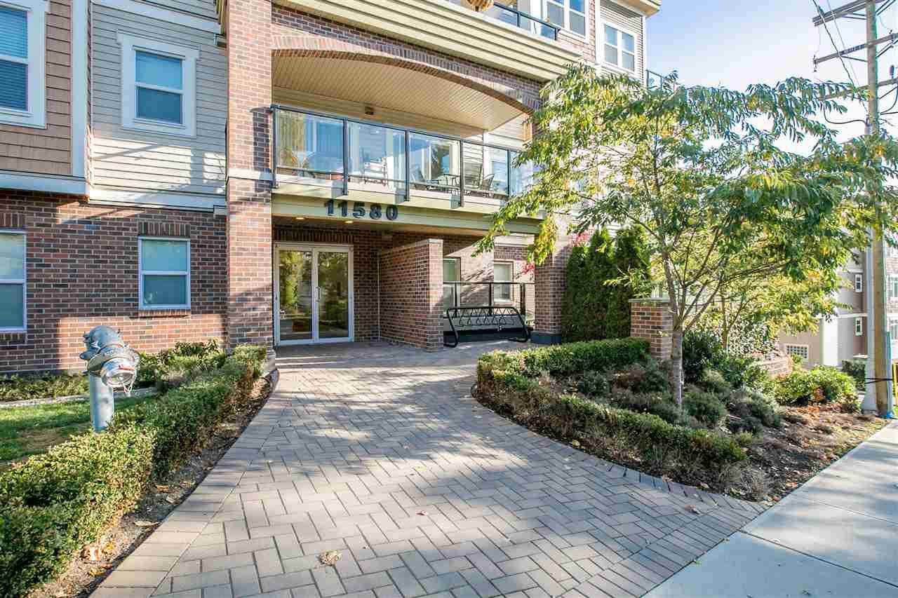 "Main Photo: 206 11580 223 Street in Maple Ridge: West Central Condo for sale in ""RIVER'S EDGE"" : MLS®# R2220633"