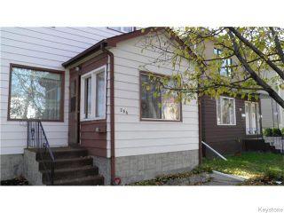 Photo 2: 286 Horace Street in WINNIPEG: St Boniface Residential for sale (South East Winnipeg)  : MLS®# 1528859