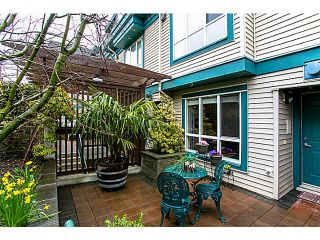 """Photo 1: 14 288 ST DAVIDS Avenue in North Vancouver: Lower Lonsdale Townhouse for sale in """"ST DAVIDS LANDING"""" : MLS®# V1055274"""