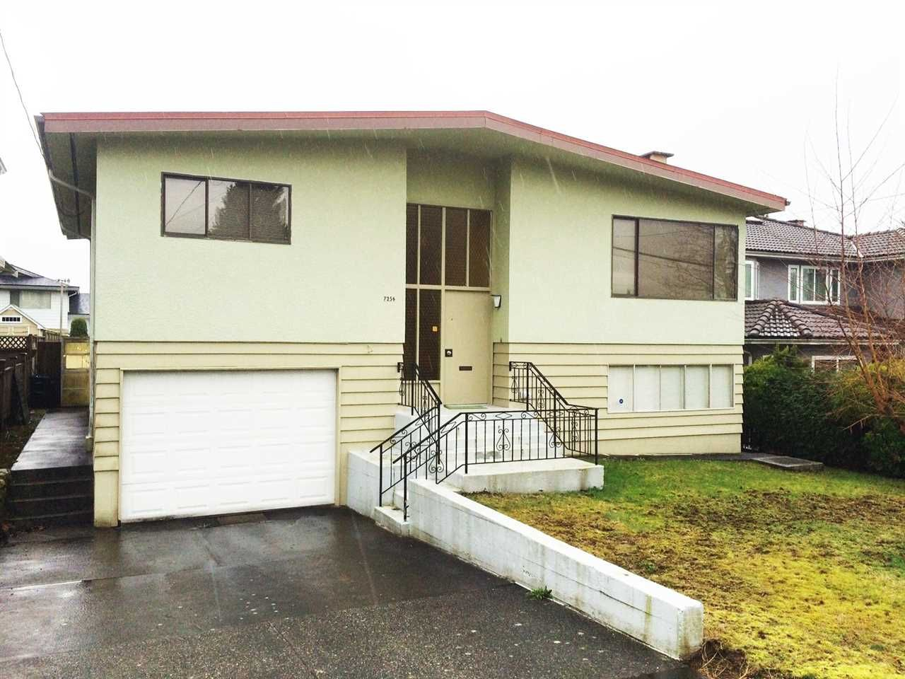 Main Photo: 7256 UNION Street in Burnaby: Simon Fraser Univer. House for sale (Burnaby North)  : MLS®# R2065076