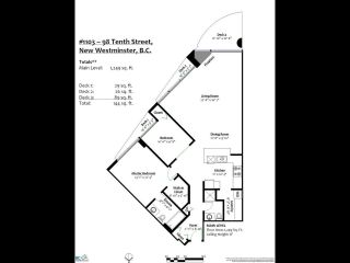 """Photo 19: 1103 98 TENTH Street in New Westminster: Downtown NW Condo for sale in """"Plaza Point"""" : MLS®# R2494856"""