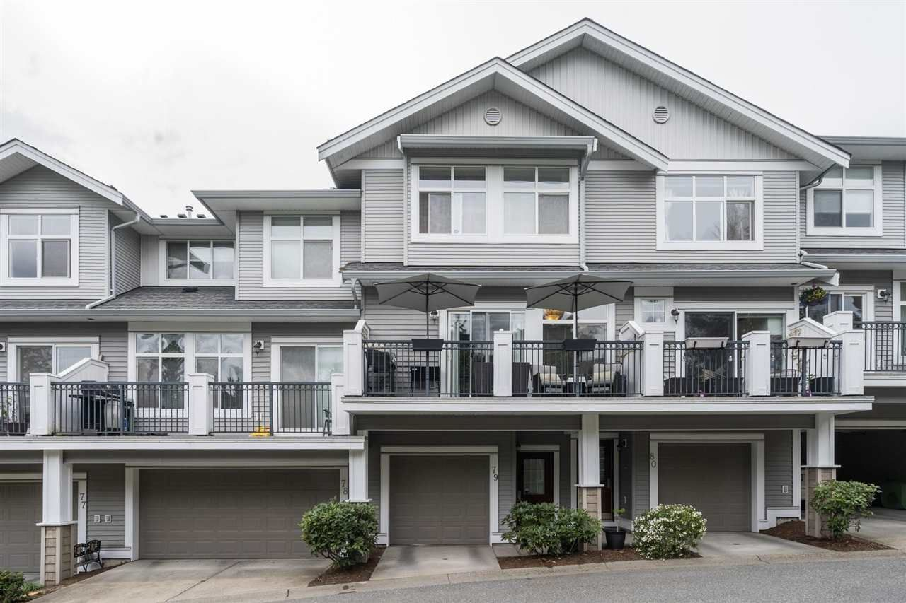 """Main Photo: 79 20449 66 Avenue in Langley: Willoughby Heights Townhouse for sale in """"Natures Landing"""" : MLS®# R2573533"""