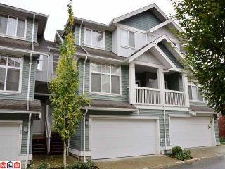 "Photo 1: 53 6785 193RD Street in Surrey: Clayton Townhouse for sale in ""MADRONA"" (Cloverdale)  : MLS®# F1226686"