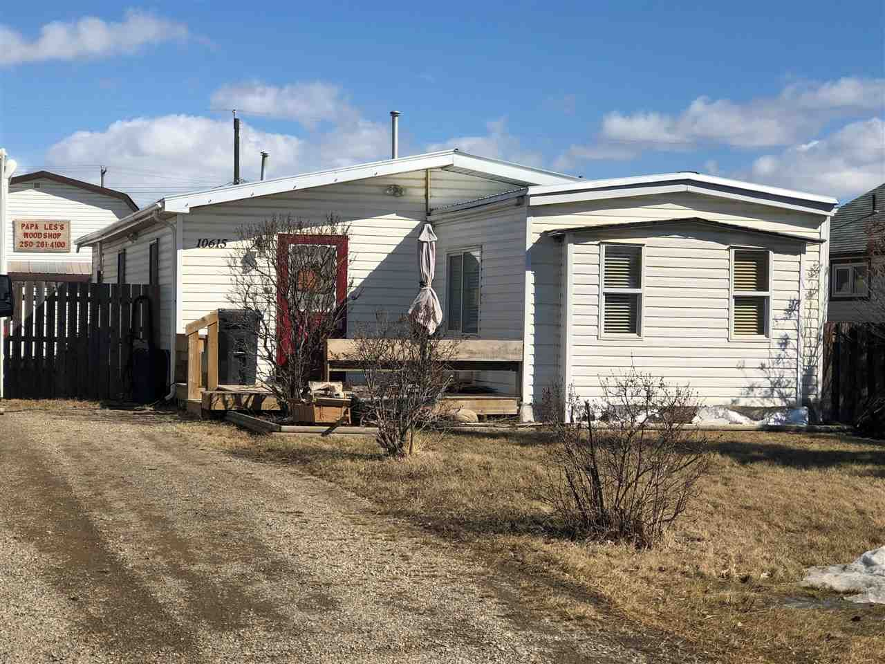 Main Photo: 10615 101 Street: Taylor Manufactured Home for sale (Fort St. John (Zone 60))  : MLS®# R2562496
