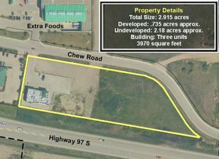 """Photo 1: 960 CHEW Road in Quesnel: Red Bluff/Dragon Lake Land Commercial for sale in """"SOUTHGATE SQUARE"""" (Quesnel (Zone 28))  : MLS®# C8039989"""