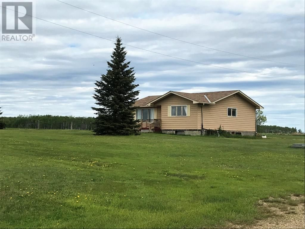 Main Photo: 834043 HIGHWAY 685 in Rural Clear Hills County: House for sale : MLS®# A1050461