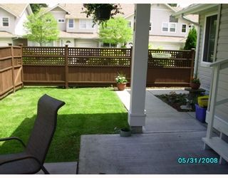 "Photo 14: 30 11870 232ND Street in Maple_Ridge: Cottonwood MR Townhouse for sale in ""ALOUETTE ESTATES"" (Maple Ridge)  : MLS®# V714215"