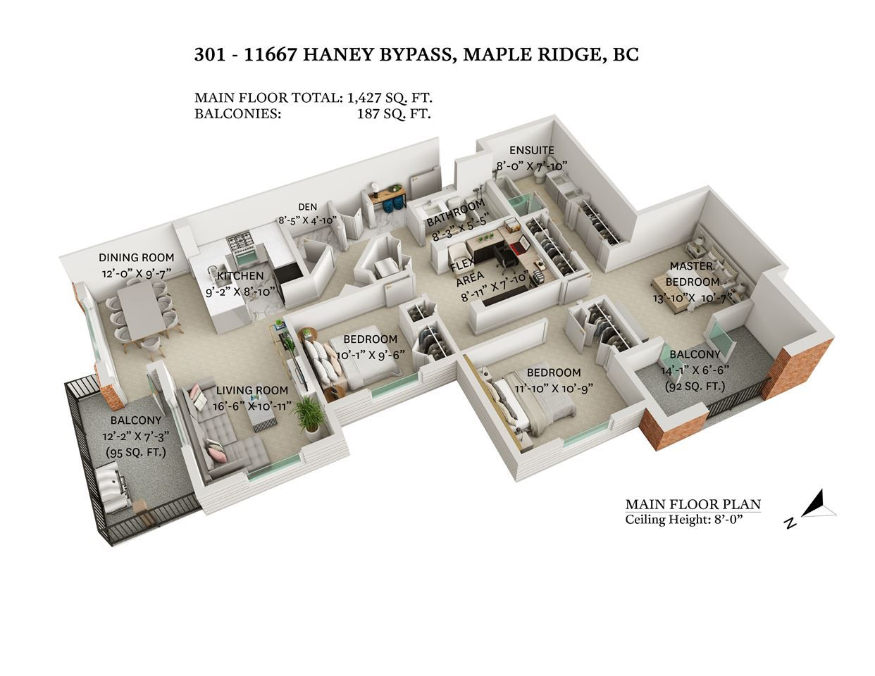 """Main Photo: 301 11667 HANEY Bypass in Maple Ridge: West Central Condo for sale in """"Haney's Landing"""" : MLS®# R2568174"""