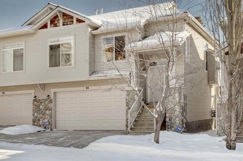 Main Photo: Map location: 22 7401 Springbank Boulevard SW in Calgary: Springbank Hill Semi Detached for sale : MLS®# A1068939