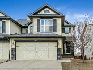 Main Photo: 452 Silverado Range Place SW in Calgary: Silverado Semi Detached for sale : MLS®# A1093688