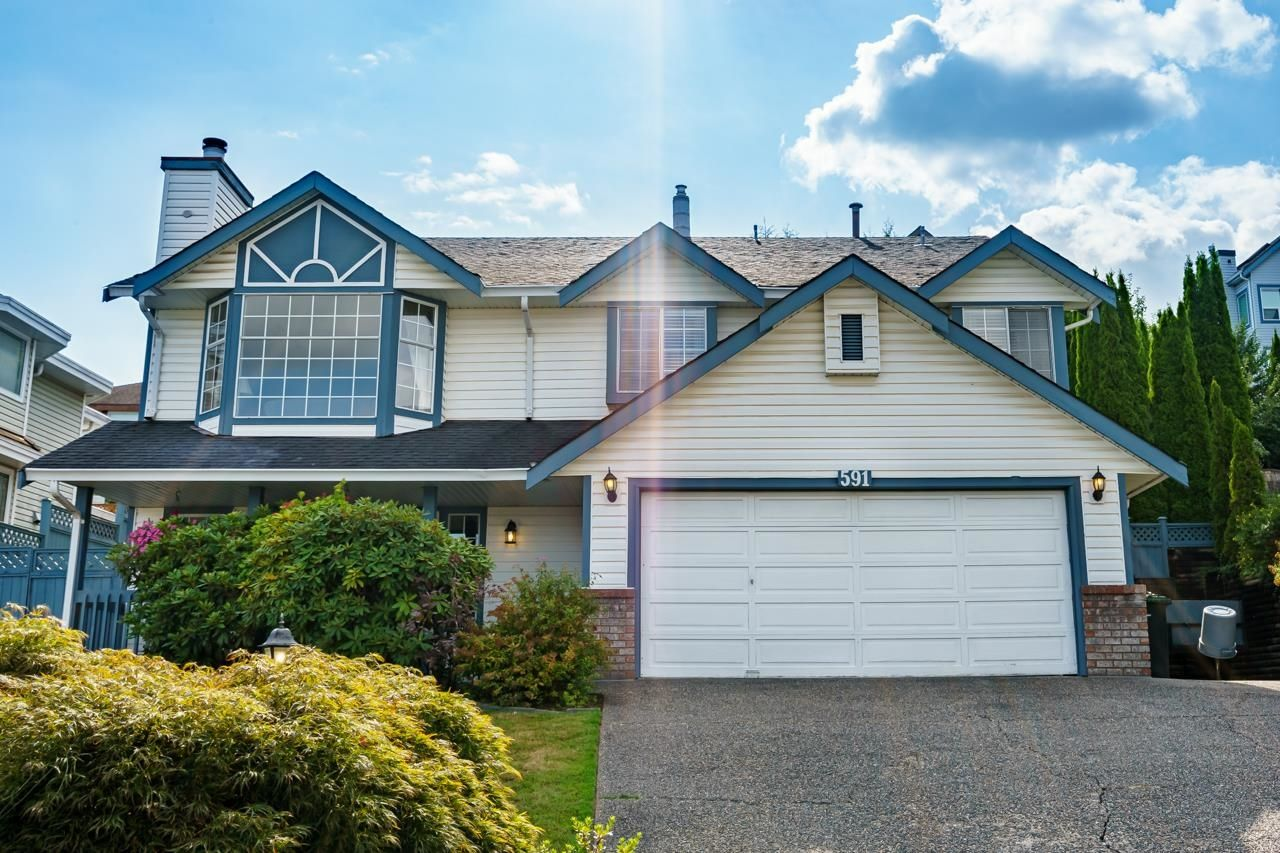"""Main Photo: 591 CLEARWATER Way in Coquitlam: Coquitlam East House for sale in """"RIVER HEIGHTS"""" : MLS®# R2612042"""