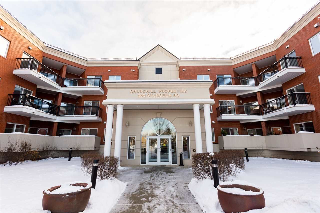 Main Photo: 201 260 Sturgeon Road: St. Albert Condo for sale : MLS®# E4225100