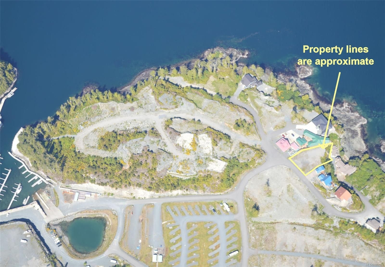 Main Photo: 1550 Ella Point Dr in : NI Hyde Creek/Nimpkish Heights Land for sale (North Island)  : MLS®# 885533