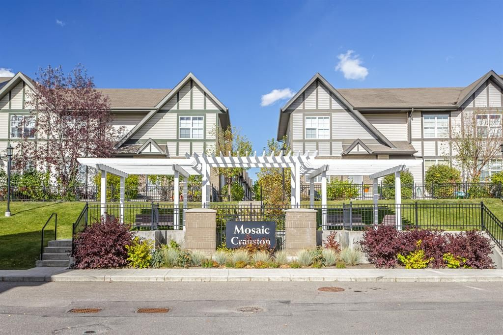 Main Photo: 120 Cranford Court SE in Calgary: Cranston Row/Townhouse for sale : MLS®# A1153516