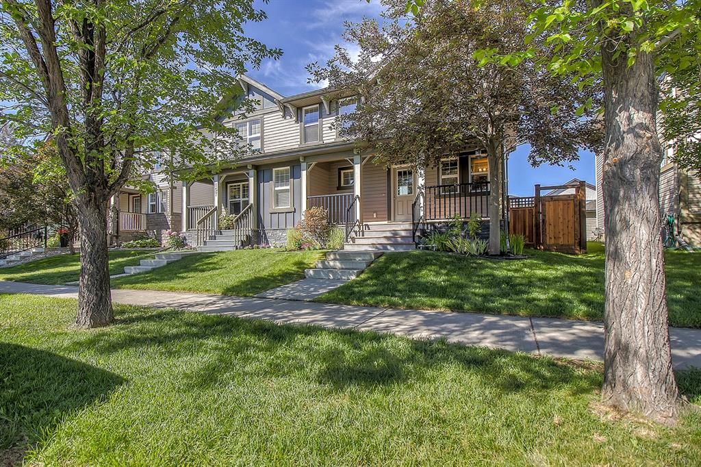 Main Photo: 161 Chaparral Valley Drive SE in Calgary: Chaparral Semi Detached for sale : MLS®# A1124352