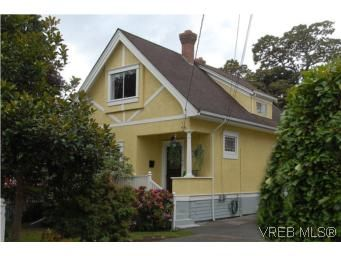 Main Photo: 1044 Redfern St in VICTORIA: Vi Fairfield East House for sale (Victoria)  : MLS®# 518219