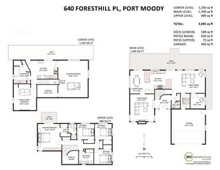 Photo 20: 640 FORESTHILL Place in Port Moody: North Shore Pt Moody House for sale : MLS®# R2114277