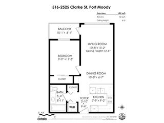"""Photo 26: 516 2525 CLARKE Street in Port Moody: Port Moody Centre Condo for sale in """"THE STRAND"""" : MLS®# R2531825"""