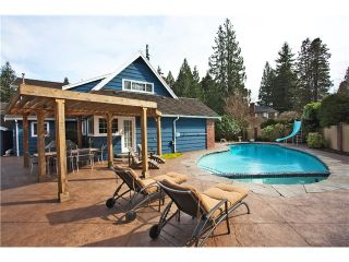 "Photo 13: 1282 RYDAL Avenue in North Vancouver: Canyon Heights NV House for sale in ""CANYON HEIGHTS"" : MLS®# V999856"