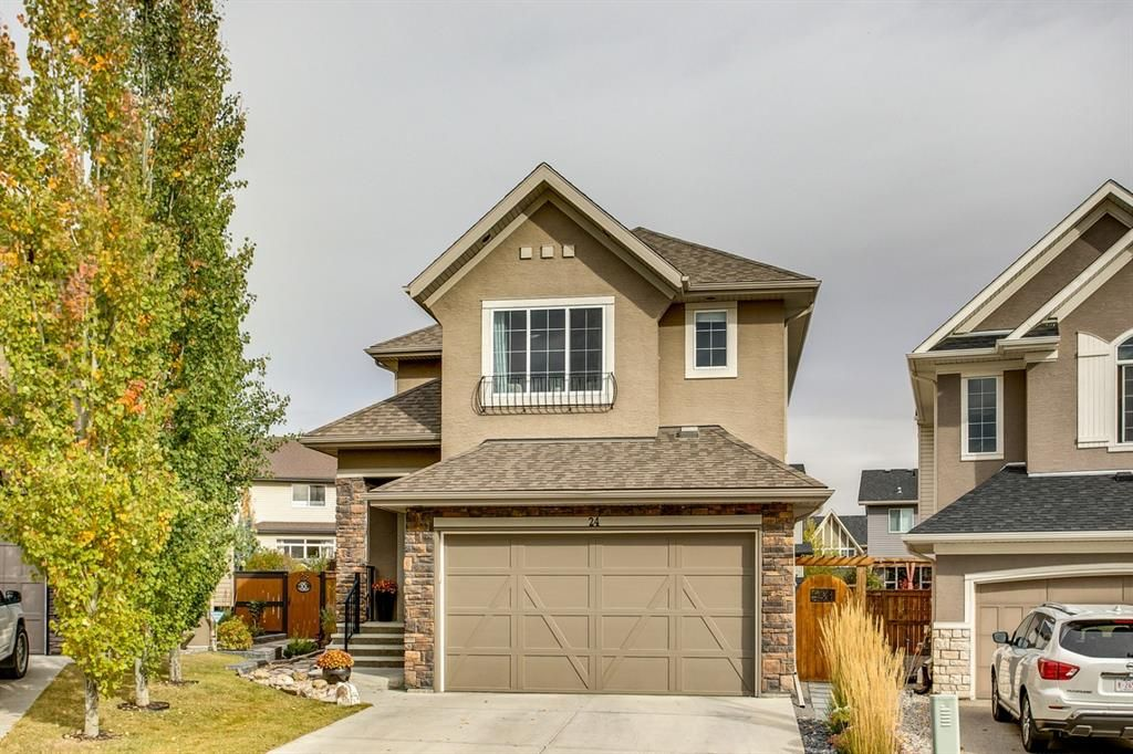 Main Photo: 24 CRANARCH Bay SE in Calgary: Cranston Detached for sale : MLS®# A1038877