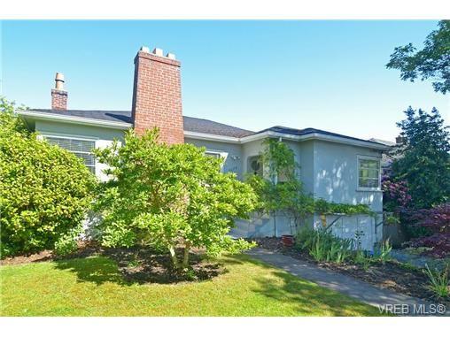Main Photo: 2675 Cadboro Bay Rd in VICTORIA: OB Estevan House for sale (Oak Bay)  : MLS®# 672546