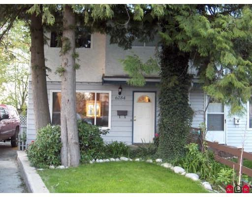 Main Photo: 6284 MORGAN Place in Surrey: Cloverdale BC 1/2 Duplex for sale (Cloverdale)  : MLS®# F2909837
