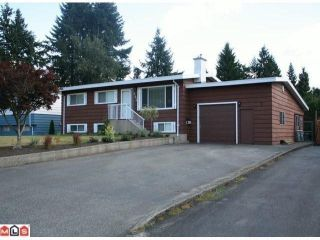 Photo 1: 34494 YORK Avenue in Abbotsford: Abbotsford East House for sale : MLS®# F1023067
