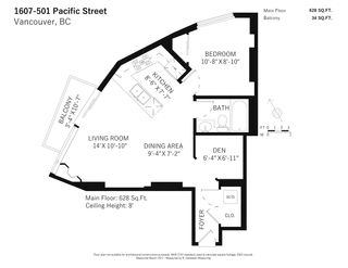 """Photo 20: 1607 501 PACIFIC Street in Vancouver: Downtown VW Condo for sale in """"The 501"""" (Vancouver West)  : MLS®# R2561334"""