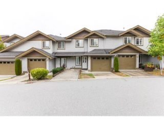 """Photo 1: 54 12040 68TH Avenue in Surrey: West Newton Townhouse for sale in """"Terrane"""" : MLS®# F1450665"""
