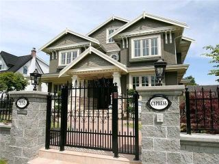Main Photo: 7138 CYPRESS Street in Vancouver: South Granville House for sale (Vancouver West)  : MLS®# V977844