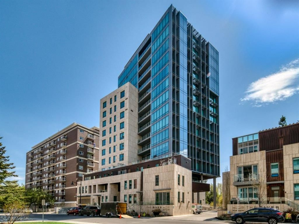 The River- Calgary's only waterfront boutique luxury condominium
