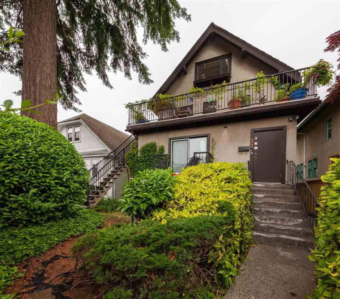 Main Photo: 33 W 19TH AVENUE in Vancouver: Cambie House for sale (Vancouver West)  : MLS®# R2589888