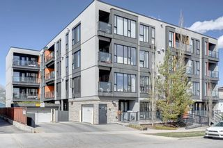 Main Photo: 405 414 MEREDITH Road NE in Calgary: Crescent Heights Apartment for sale : MLS®# A1102215