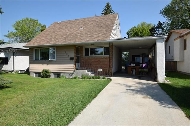 Main Photo: 233 BRUCE Avenue in Winnipeg: Silver Heights Residential for sale (5F)  : MLS®# 1913985