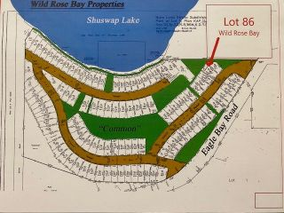 Photo 2: 86 6421 Eagle Bay Road in Eagle Bay: WILD ROSE BAY Vacant Land for sale (EAGLE BAY)  : MLS®# 10232477